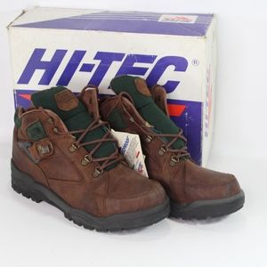 Vtg New Hi Tec Mens 11.5 Aspen Leather Hike Boots